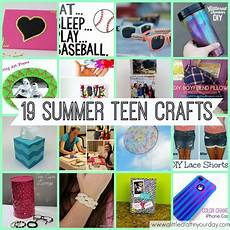19 teen crafts for summer a little craft in your day