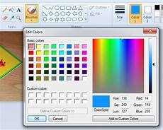 microsoft paint color code how to get html color code from an image using ms paint