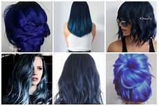 coloration cheveux bleu cheveux bleus midnight blue meyonie
