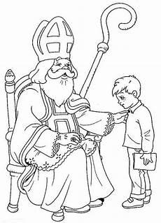 Malvorlage Bischof Nikolaus St Nicholas Coloring Page N Coloring Pages