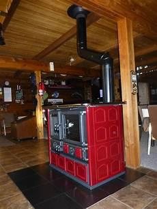 wood cook stove la nordica quot rosa maiolica quot