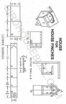 cute finch bird house plans new home plans design