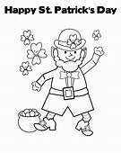 Printable St Patricks Day Coloring Pages  Home