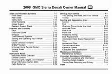 car owners manuals free downloads 2001 gmc sierra 3500 user handbook gmc sierra 2008 owner s manual pdf download