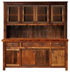 Kitchen Buffet Cabinet For Sale by Barnwood 75 Quot Buffet Hutch Hickory Legs Antique Oak Top
