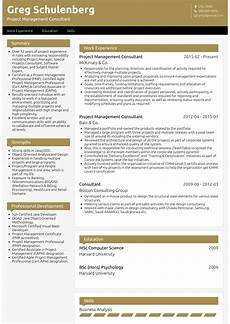 management consultant resume sles and templates visualcv