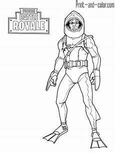 fortnite battle royale coloring page chomp sr printable