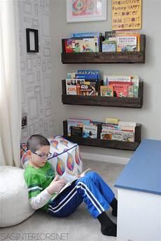 Wallpaper Boy Bedroom Ideas Pictures by Pallet Shelves In This Boy Bedroom Makeover Gray Walls