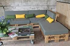 Salon De Terrasse Avec Palette Veranda Styledevie Fr