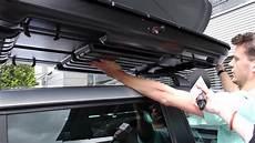 autofaszination dachbox thule montieren in k 252 rzester zeit