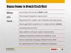 oracle forms licensing oracle forms stay or move webinar by kumaran systems