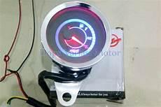 jual rpm fuel meter bensin jarum led indikator wilwood ere analog universal motor di lapak