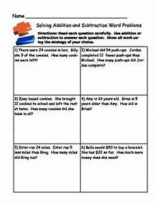 subtraction word problem worksheets for grade 2 11259 grade 2 math activity addition and subtraction word problem sort by w