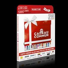 Midipile La Carte Cadeau Commun Spirit Of Cadeau Ccds