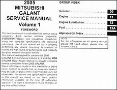auto repair manual online 2005 mitsubishi galant seat position control 2005 mitsubishi galant repair shop manual set original