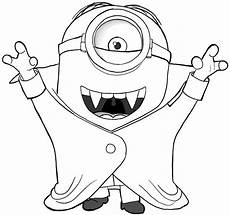 minion coloring pages and print for free