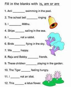 worksheets for class 1 english grammar