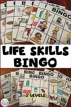 life skills bingo special education autism resource life skills special education and autism