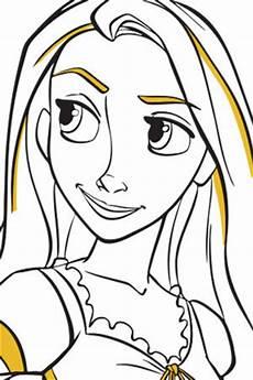 Ausmalbilder Rapunzel Malvorlagen Junior Ausmalbild Rapunzel 2 Disney Kreativ De