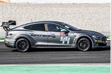 Race Ready Tesla Model S P100d Shown Ahead Of Electric Gt