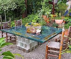 backyard design ideas glasbausteine glasbausteine
