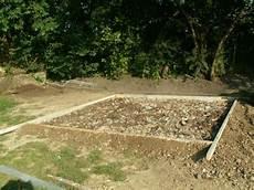 dalle pour abri de jardin
