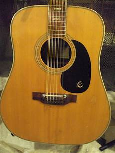 epiphone 12 string guitar vintage epiphone gibson texan 1960s early 70 s 12 string reverb