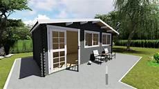 Gartenhaus Holz 40 Mm - gartenhaus 40 mm 600x300 cm blockbohlen haus aus holz