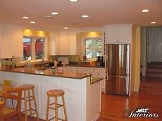 Traditional Kitchen Peninsula by Raised Peninsula Kitchen Traditional Kitchen Other