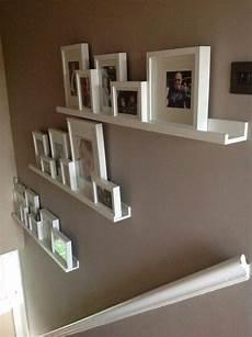 wandgestaltung mit regalen wandregal wohnzimmer deko