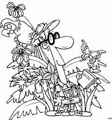 Malvorlagen Urwald Name Mann Im Regenwald Ausmalbild Malvorlage Comics