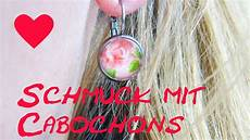 ohrringe selber machen anleitung cabochon diy earring