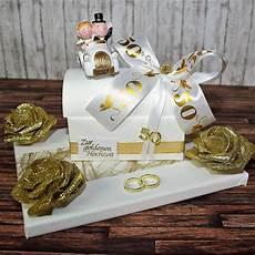 geschenk zur goldenen hochzeit truhe auf geschenkplatte