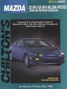chilton car manuals free download 1990 mazda mx 6 engine control chilton mazda 323 mx 3 626 mx 6 millenia protege 1990 1998 repair manual