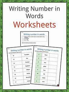 writing numbers correctly worksheet 21104 writing numbers in words worksheets numerals number words