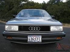 manual repair free 1988 audi 5000cs security system service manual 1986 audi 5000 cs turbo imcdb org 1986 audi 5000 cs turbo quattro c3 typ 44q