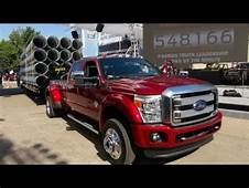 Watch The 2015 Ford F 450 67L Diesel Super Duty Debut At