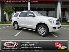 Super White  2013 Toyota Sequoia Platinum Sand Beige