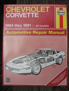 car repair manuals download 2010 chevrolet corvette on board diagnostic system chevrolet corvette automotive repair manual 1984 through by mike stubblefield ebay