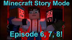 minecraft story mode episode 7 mind minecraft story mode episode 6 7 8 my thoughts