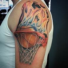 basketball tattoos designs ideas and meaning tattoos