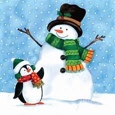 snowman paper napkins wikii