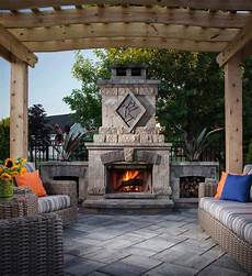 30 irresistible outdoor fireplace ideas that will leave you awe struck