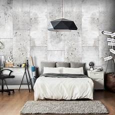 papier peint effet beton papier peint d 233 co effet b 233 ton blanc en 2019 id 233 es pour
