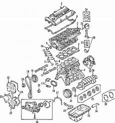 2007 kia sportage engine diagram parts 174 kia engine camshaft timing camshaft exhaust partnumber 2420023770