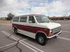 how to work on cars 1988 ford e series parking system buy used 1988 ford e 350 1 ton passenger van efi club wagon econoline cargo no reserve in calhan