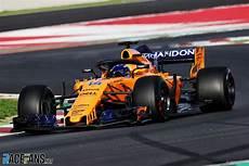 Mclaren F1 2018 - times 2018 f1 pre season testing day eight