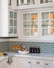 Blue Tile Backsplash Kitchen Glass Tile Backsplash Design Ideas