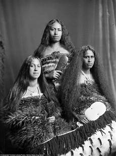 Portraits Show Last Traditionally Inked Maori Of Nz