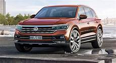 2018 vw touareg rendered with t prime gte features
